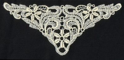 """Embroidery Design: Lace 2nd Ed. vol4 #16.39"""" x 2.98"""""""