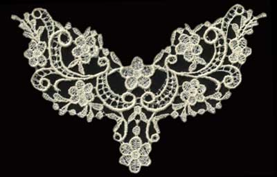 """Embroidery Design: Lace 2nd Ed. vol1 #27.32"""" x 4.32"""""""