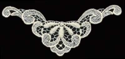 """Embroidery Design: Lace 2nd Ed. vol1 #36.57"""" x 3.21"""""""