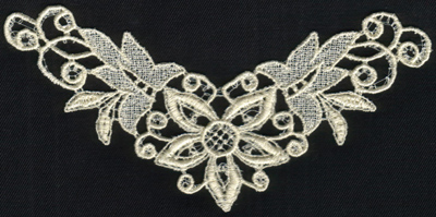 """Embroidery Design: Lace 2nd Ed. vol4 #26.24"""" x 3.27"""""""