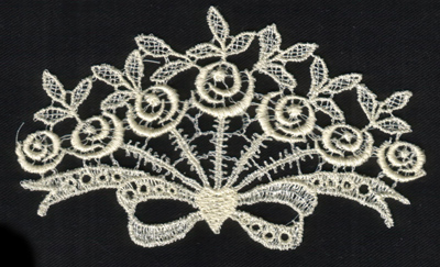 """Embroidery Design: Lace 2nd Ed. vol1 #55.15"""" x 3.11"""""""