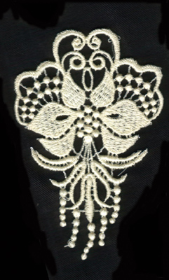 """Embroidery Design: Lace 2nd Ed. vol2 #62.96"""" x 4.45"""""""