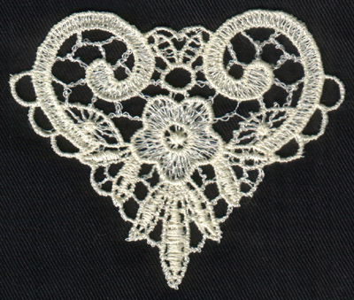 """Embroidery Design: Lace 2nd Ed. vol6 #23.38"""" x 2.88"""""""