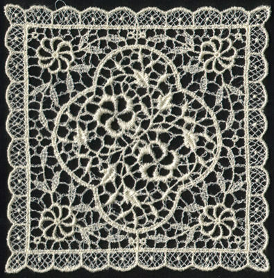 """Embroidery Design: Lace 2nd Ed. vol4 #35.24"""" x 5.34"""""""