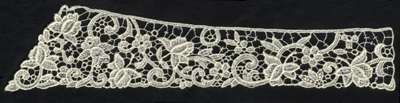 """Embroidery Design: Lace 2nd Ed. vol5 #411.70"""" x 2.89"""""""