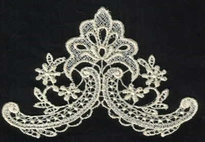 """Embroidery Design: Lace 2nd Ed. vol5 #65.62"""" x 3.84"""""""