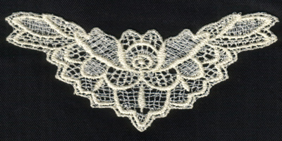 """Embroidery Design: Lace 2nd Ed. vol5 #75.48"""" x 2.32"""""""