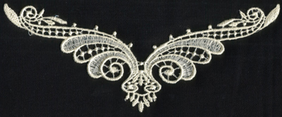 """Embroidery Design: Lace 2nd Ed. vol5 #87.62"""" x 3.67"""""""