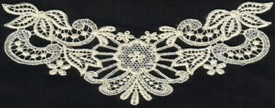 """Embroidery Design: Lace 2nd Ed. vol4 #97.46"""" x 3.03"""""""