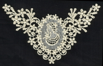 """Embroidery Design: Lace 2nd Ed. vol6 #96.35"""" x 3.74"""""""