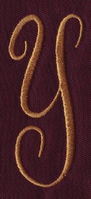 "Embroidery Design: FM Center Y1.33"" x 3.02"""