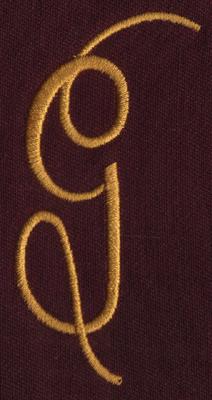 "Embroidery Design: FM Left G1.49"" x 3.02"""