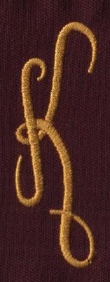 "Embroidery Design: FM Left K0.94"" x 2.75"""