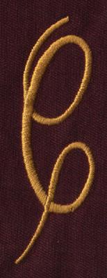 """Embroidery Design: FM Right C0.95"""" x 3.02"""""""