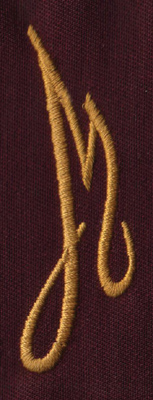 "Embroidery Design: FM Right M0.94"" x 2.79"""