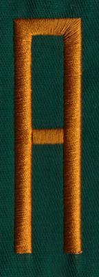 "Embroidery Design: OM Center A0.82"" x 2.76"""