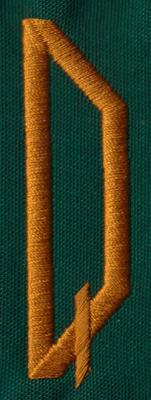 "Embroidery Design: OM Right Q0.83"" x 2.79"""