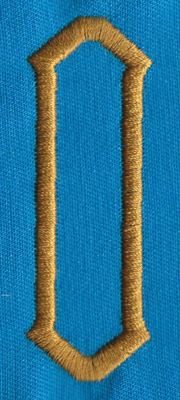 "Embroidery Design: PM Center O0.99"" x 2.75"""