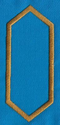 "Embroidery Design: PM Accent 131.60"" x 3.87"""