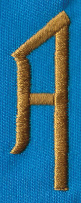 """Embroidery Design: PM Left A0.66"""" x 1.93"""""""