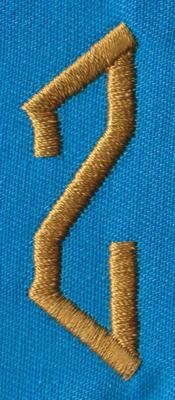"Embroidery Design: PM Left Z0.67"" x 2.00"""