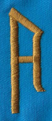 """Embroidery Design: PM Right A0.65"""" x 1.94"""""""