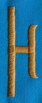 """Embroidery Design: PM Right H0.65"""" x 1.87"""""""