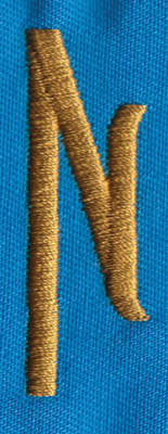 """Embroidery Design: PM Right N0.65"""" x 1.86"""""""