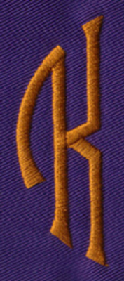 "Embroidery Design: SM Left K0.96"" x 2.61"""