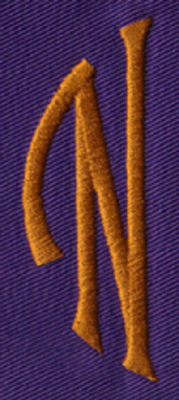 """Embroidery Design: SM Left N0.97"""" x 2.61"""""""