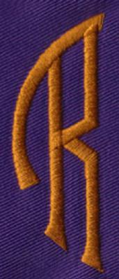 "Embroidery Design: SM Left R0.96"" x 2.61"""
