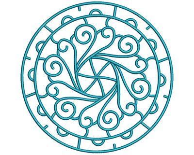 Embroidery Design: Mandalas Vol 3 Design 11 7.69w X 7.69h