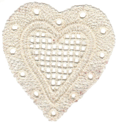 """Embroidery Design: Vintage Lace - 013.03"""" x 3.22"""""""
