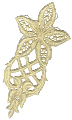 """Embroidery Design: Vintage Lace - 045.45"""" x 7.14"""""""