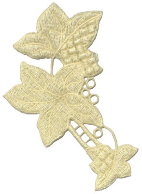 """Embroidery Design: Vintage Lace - 104.47"""" x 5.98"""""""