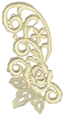"""Embroidery Design: Vintage Lace - 144.22"""" x 6.12"""""""