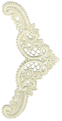 """Embroidery Design: Vintage Lace - 185.05"""" x 10.08"""""""