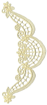 """Embroidery Design: Vintage Lace - 193.10"""" x 6.72"""""""
