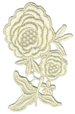 "Embroidery Design: Vintage Lace - 243.21"" x 4.57"""