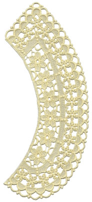 """Embroidery Design: Vintage Lace - 294.26"""" x 9.34"""""""