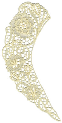 """Embroidery Design: Vintage Lace - 324.52"""" x 8.28"""""""