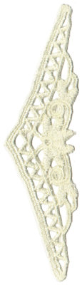 """Embroidery Design: Vintage Lace - 391.77"""" x 5.73"""""""
