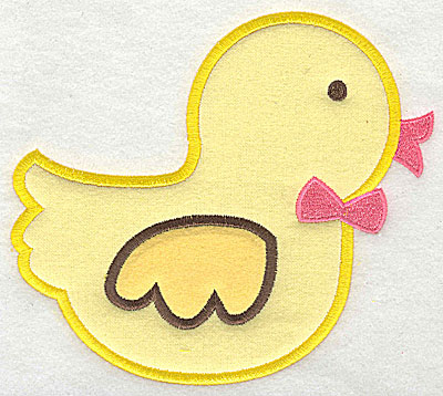 Embroidery Design: Rubber Ducky 5.17w X 4.70h