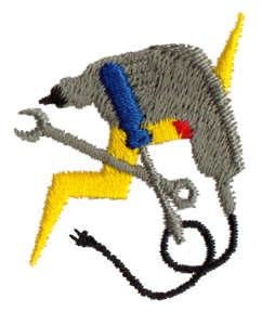 """Embroidery Design: Drill1.30"""" x 1.65"""""""