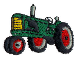 "Embroidery Design: Tractor1.52"" x 1.1"""