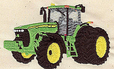 Embroidery Design: Tractor 3.75w X 2.25h
