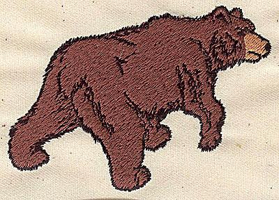 Embroidery Design: Bear    3.88w X 2.75h