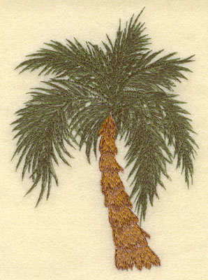 Embroidery Design: Palm Tree4.45w X 6.23h
