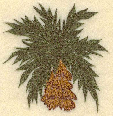 Embroidery Design: Palm Tree3.36w X 3.46h