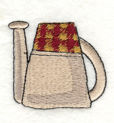 "Embroidery Design: Snickerdoodle Watering Can2.03"" x 1.77"""